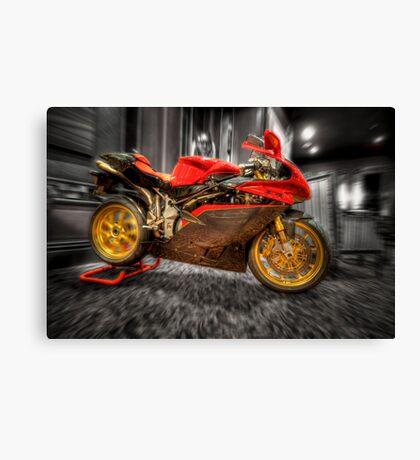 MV Agusta Art - HDR Canvas Print