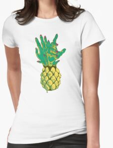Zombie Pineapple #2 Womens Fitted T-Shirt