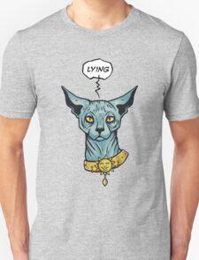 Lying cat T-Shirt