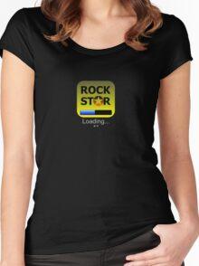 Rockstar app Women's Fitted Scoop T-Shirt