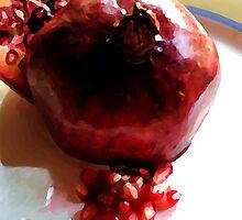 Katherine's Pomegranate by Mattie Bryant