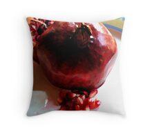 Katherine's Pomegranate Throw Pillow