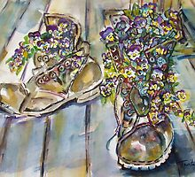 Plant Boots by Twila Everitt