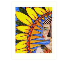 Egpytian Woman Art Print