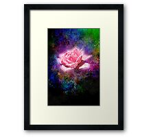 Fleur du Illumen Framed Print