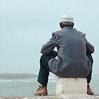 Man and sea by Valentina Silva
