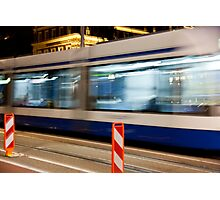 Night Trolley Photographic Print