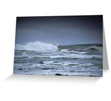 Ocean Surf Greeting Card
