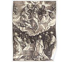 Albrecht Dürer or Durer The Assumption and Coronation of the Virgin Poster