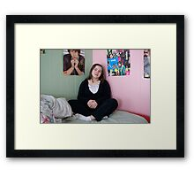 Monica Framed Print