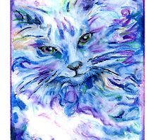 Spirit Cat 4  by Maggie Keegan