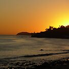 Sunset in Malibu by June Tapia