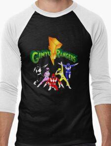 Mighty Morhpin Ginyu Rangers Men's Baseball ¾ T-Shirt