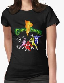 Mighty Morhpin Ginyu Rangers Womens Fitted T-Shirt