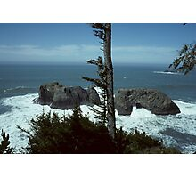 Arch Rock Oregon Coast Photographic Print
