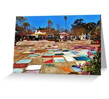 Spanish Village 'Colors' Greeting Card