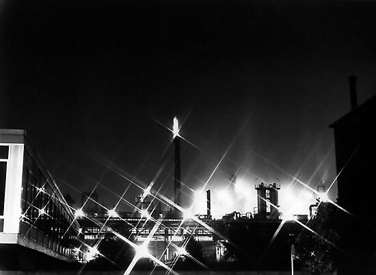 Chemical Plant - Germany, 1979 by Bob Wall