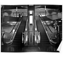 Glass Escalator Poster
