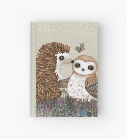 Owl and Hedgehog Hardcover Journal