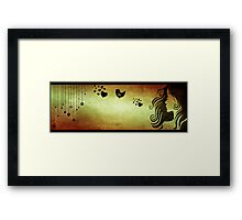 love in a breath... Framed Print