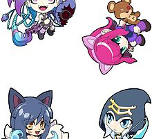League of Legends Sticker Sheet Collection #7 by 57MEDIA