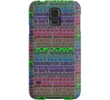 """Engineers Speak with Fonts""© Samsung Galaxy Case/Skin"