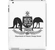 Department of Climate Change Denial iPad Case/Skin