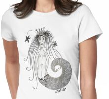 Mermaid Bride Womens Fitted T-Shirt