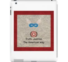 Shield of Justice iPad Case/Skin