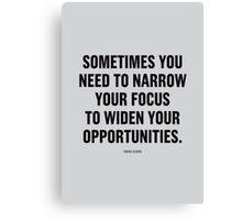 Tobias Sloane Quote Series 9 Canvas Print