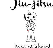 Robots love BJJ by Felix Zavala
