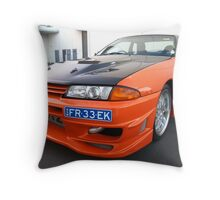 Here comes the boom - The Beast from the East Throw Pillow