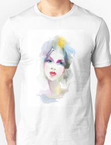 Young woman portrait  T-Shirt