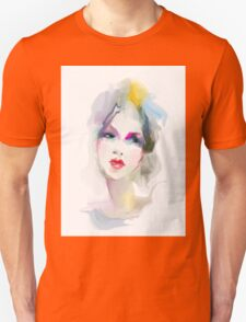 Young woman portrait  Unisex T-Shirt