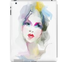 Young woman portrait  iPad Case/Skin