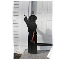 Death always rings the doorbell Poster