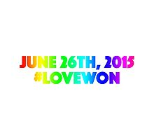 #LoveWon by anothernonstop
