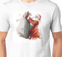 santa with bag Unisex T-Shirt