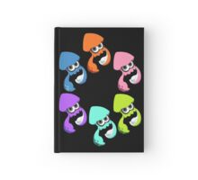 Splatoon - Inkling Squids Hardcover Journal
