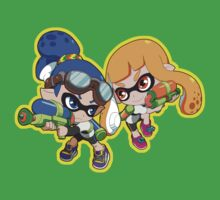Splatoon - Inkling Boy and Inkling Girl Kids Clothes