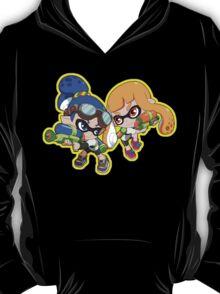Splatoon - Inkling Boy and Inkling Girl T-Shirt