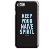 Tobias Sloane Quote Series 8 iPhone Case/Skin
