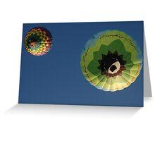 anti- gravity Greeting Card