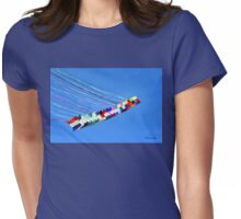 Dip and Dive, Wild and Free Womens Fitted T-Shirt