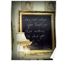 chalkboard quotes. Poster