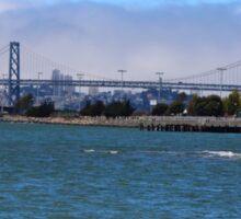 Bay Bridge, San Francisco Sticker