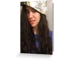 Tin Foil Hat Greeting Card