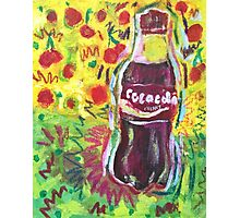 Cherry Coke Photographic Print
