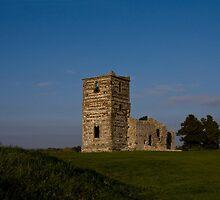 Knowlton Church by Jennifer Bradford