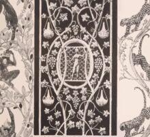 Esquisses décoratives Binet Rene 190x 0119 Rinceau Sticker